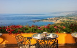 landscape-sea-ocean-Italy-mountains-flowers-table-chair
