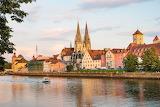 Danube, Regensburg, Germany