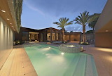 desert villa and courtyard pool