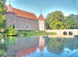 Voergaard Castle, E wing, Bridge