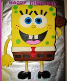 #Happy Birthday SpongeBob Cake