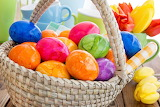 Colours-colorful-Easter-eggs-basket-tulips