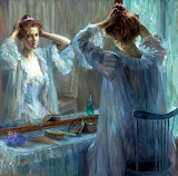 Louise Catherine Breslau, La Toilette, 1898