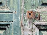 Old-door-lock