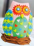 Owl cake @ Renshaw Baking