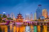 Guiyang, China, city, skyline, Asia, attraction, bridge