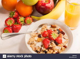 bowl-of-cereal-fruits-and-orange-juice-on-tabletop-breakfast-D
