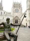 Camino Statue at Burgos