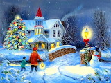 Christmas Art @ Pinterest...