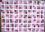 Pink & Black 4 Patch