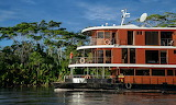 Equador, MV Anakonda on the Amazon