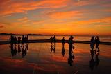 "Sunset over the instalation""Hello to the sun"",Zadar,Croatia"