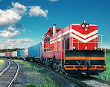 Cargo train in Vietnam