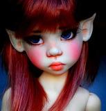 Girl cheeks