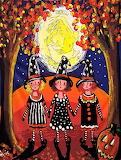 3 Little Witches by Renie Britenbucher