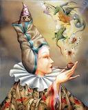 La Fumeuse by Agnes Boulloche