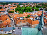 Ribe, View from Cathedral, Denmark