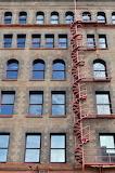 Circular fire escape