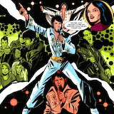 Elvis Comic Collage