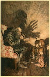 """Fairy Tales"" tumblr enchantedbook ""Arthur Rackham"""