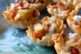 ^ Caramelized Fennel, Pancetta and Gruyere cheese appetizers