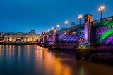 London, Southwark Bridge, England UK