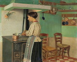 Félix Vallotton, Cook at the Stove, 1892
