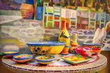 Pottery, art, crafts, painting, bowls