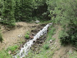 Waterfall, Urad Lake Trail, CO