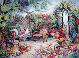 Grandmother's Garden ~ Barbara Mock