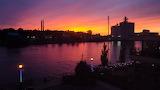 Oswego River Sunset