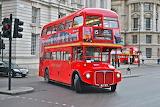 Old double-decker bus