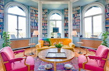 Colourful Home Library
