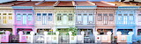 Colourful Houses in Joo Chiat