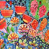 tropical flowers, Imogen Skelley
