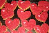 Hearts @ Torte e biscotti decorati