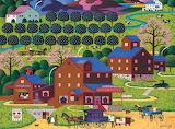 Plum Valley by Charles Wysocki