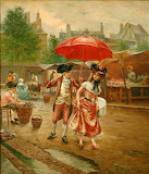 The Red Umbrella~ Cristobal de Antonio