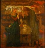 Tristram and La Belle Yseult, 1867, Dante Gabriel Rossetti