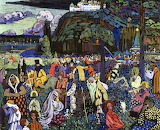 Colourful Life 1907. Wassily Kandinski