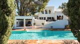 Ibiza villa, pool and garden