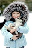 Girl & Puppy
