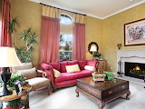 Interior Sofa fireplace painting carpet leather room com