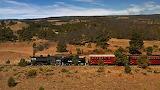 Cumbres & Toltec Scenic Railroad #484 Westbound At Big Horn