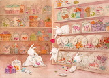 Bunnies in the Candy Shoppe