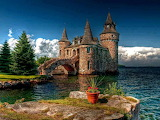 Boldt Castle on Heart Island New York USA