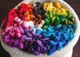 Colorful Embroidery Floss