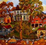 ^ Autumn at Laurel Hill Farm ~ Sharon Eyres