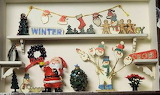 Christmas Winter Window Display