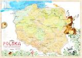Polish map for children/Find me in Gdańsk!